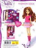 VIOLETTA OFFERTA BLISTER CON BAMBOLA FASHION DOLL  E DIARIO MAKE-UP NCR18237