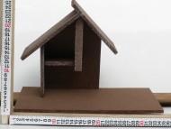Millenium Christmas presepe  capanna in legno cod 01