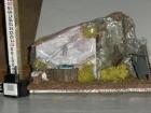 Millenium Christmas. Accessori per rifinire e rendere originale il tuo presepe. La fontana funziona con l' acqua e con la pompa elettrica riproduce il lavatoio di una volta. cod.340