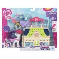 My Little Pony Friendship -  Rarity Dress Shop Playset B5390-B3604 di Hasbro