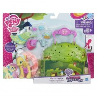 My Little Pony - Playset Mini Valigetta Fluttershy b5391-b3604 di Hasbro