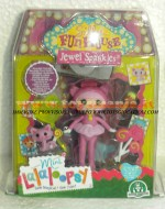 NOVITA' MINI LALALOOPSY SILLY FUN HOUSE GIOCHI PREZIOSI !!! MINI LALALOOPSY JEWEL SPARKLES CON ACCESSORI  GPZ12194