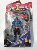!!!!!POWER RANGERS!!!!!NOVITA' DELLA GIG POWER RANGERS SAMURAI , SAMURAI RANGERS TRASFORMABILI PERSONAGGIO Kevin Cartezia Blue samurai Ranger PERSONAGGIO DELL'ACQUA COD 31520