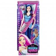 Barbie - Principessa Rock Amica con Tastiera di Mattel CKB62