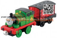 Fisher Price W6269 - Il trenino Thomas, Percy con vagone retrattile COD W6267