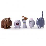 Secret Life Of Pets 6028102 - Mini Personaggi Confezione da 5
