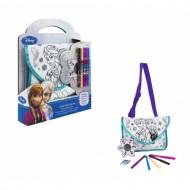 5055114293423 Frozen - Nuova Borsetta Frozen - Colora la tua borsetta , completo di tutto .