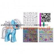 Hasbro A1386 Disegna il Tuo My Little Pony azzurro