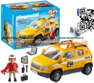 PLAYMOBIL 5470 AUTO DEL DIRETTORE DEI LAVORI DEL CANTIERE City Action - Site Supervisor`s Vehicle - 5470