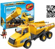 PLAYMOBIL 5468 AUTOCARRO CON CASSONE RIBALTABILE City Action - Industrial Dump Truck - 5468