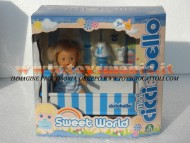 GIOCHI PREZIOSI MINI CICCIOBELLO SWEET WORLD DELUXE CON ACCESSORIO  LA NANNA CON LETTINO  COD 18173