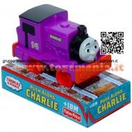 Veicolo Thomas & Friends Mattel Roda Livre CHARLIE spingibili W2190/W2195