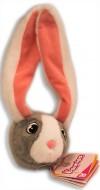 IMC  Bunnies Coniglietto magnetico - Grigio con musetto bianco