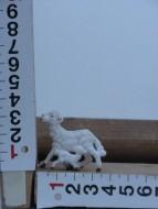 Presepe Pecora con bimbo animali per il presepe cod 131