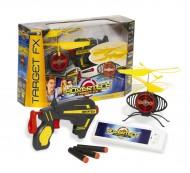Hovertech Target Fx - Drone volante con pistola e 3 dardi- Giochi Preziosi GPZ14830