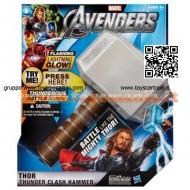 !!! MARVEL !!! SUPER EROI Avengers Il Martello del Tuono di Thor Hasbro COD 36703