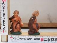 Millenium Christmas  personaggi presepe Giuseppe in ginocchio cod 55