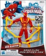 iron spider man versione con artigli , hasbro