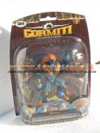 GIG GORMITI TITANIUM TOBY IL SIGNORE DEL MARE 10 CM CON ARMATURA D'ORO REMOVIBILE COD.1440