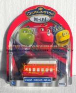 !!! Chuggington trenini !!!!  Chuggington Decka, DAHLIA DANA  COD LC 54070 ccp 15058