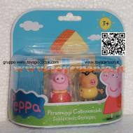 PEPPA PIG BLISTER 2° SERIE MODELLO FORMATO DA PEPPA PIG E PEDRO CCP 04430