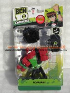 BEN 10, BEN  TEN OMNIVERSE FOURARMS PERSONAGGIO PARLANTE CCP36062