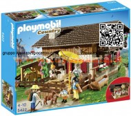 PLAYMOBIL 5422 RIFUGIO ALPINO , BAITA ALPINA ( ESCLUSIVA NORMAL TRADE )