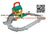 Thomas & Friends - CENTRO RIPARAZIONI DI SODOR  Circuito con riparazione treni W3530 COD W4774