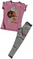 MASHA E ORSO maglia Completo bambina 5 anni art.MH03 Rosa/Gr.Melange