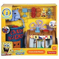 Mattel W9639 - Spongebob Imaginext PLAYSET Krusty Krab 42,2 x 14,2 x 40,6 cm