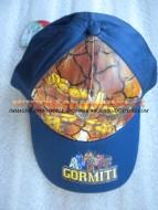 !!!! Cappello !!!!!!  con visiera color blu per bambini con personaggio gormiti