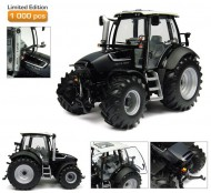 UNIVERSAL HOBBIES UH 4256 LIMITED EDITION 1000 PZ. SCALA 1/32 DEUTZ-FAHR TTV 430 BLACK TRACTEUR DEUTZ FAHR AGROTRON TTV 430 BLACK EDITION **