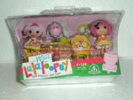 MINI !!!!! LALALOOPSY !!!!  PLAYSET CON PERSONAGGIO  SET TEA PARTY CRUMBS' TEA PARTY COD 01203