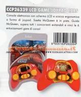 giochi preziosi cars video gioco lcd modello cars yoypad tascabile ccp 26339