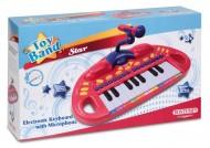 Bontempi MK 1830.2 - Tastiera Elettronica Da Tavolo A 18 Tasti Con Microfono