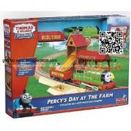 Mattel - R9489 - Trenino Thomas Fisher Price - Playset di Percy
