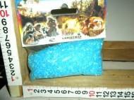 Millenium Christmas. Sacchetto contenente granelli azzurri per la simulazione del fiume/lago! cod.374