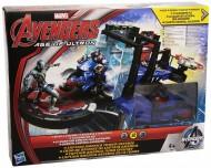 Avengers - Miniverse Playset Capitan America difesa della torre B1402 di Hasbro