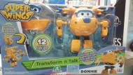Super Wings Transform'n Talk Donnie di Giochi Preziosi UPW09000