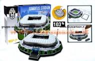 Giochi Preziosi - Nanostad, 3D Stadium Puzzle, Juventus Stadium GPZ 15125