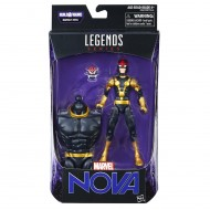 Marvel Legends, Guardiani della Galassia Vol. 2 - Figura Sam Alexander Nova 15cm C0623-C0079