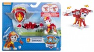 Spinmaster 20071464 - Air Rescue Marshall Marcus Paw Patrol Action Pack Pup & Badge