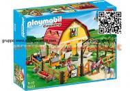 PLAYMOBIL POINT 5222 MANEGGIO DEI PONY