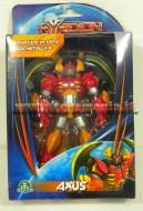 Robot da collezzione Hiridion ,Hyridion ARMATURA IN LEGA METALLICA personaggio AXUS  toys , BRINQUEDOS ,JUGUETES , JOUETS , giocattolo COD 11221