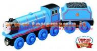 !!!! trenino Thomas novita' !!!!Thomas and Friends personaggio Gordon the tank engine in Legno cod Y4073
