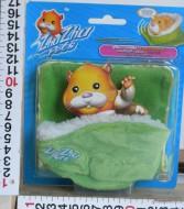 GIG  ZHU ZHU SET NANNA lettino e copertina verde