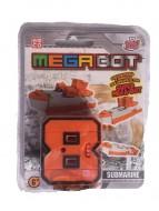 MEGA BOT - MEGABOT GRANDI GIOCHI - CREA IL TUO ROBOT MODELLO NUMERO 8 - SUBMARINE