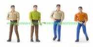 bworld personaggio Dark Man con le scarpe serie formata da 4 personaggi diversi [cod 60001]