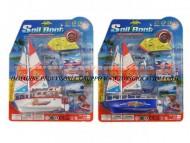 Royal plast giocattoli , ingrosso , 03407 - GV2500 BARCA A VELA LUCI E SUONI CM 32X27