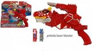 Power Ranger Pistola Dino Super Charger Morpher con Luci e Suoni